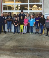 Builders Club delivers cheer to local firemen!