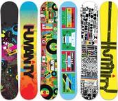 Custom snowboard & skateboards