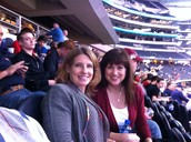 Mrs. Butler & Miss Angie are spotted at Cowboys Stadium!