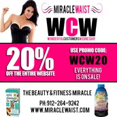 GET 20% OFF THE ENTIRE WEBSITE FOR #WCW