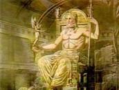 statue man Zeus