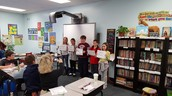 #oneword challenge in 5th grade