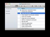 Speakable Items Folder