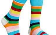 Mens summer stripes socks