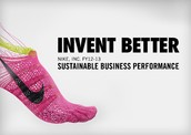What is the environmental impact of Nike's busines?