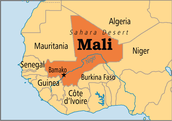 Where mali is located