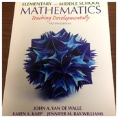 Elementary and Middle School Mathematics-Thinking Developmentally