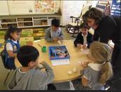 Making Snowmen in Mrs. Hale's Class!