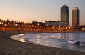 La Playa de Barceloneta