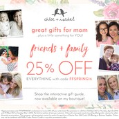 Great gifts for mom at 25% off!