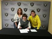 College Signing - University of Nebraska Omaha