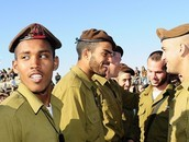 חייל אתיופי מתגייס לצבא