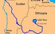 The Blue Nile RIver.