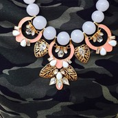 Riviera Statement Necklace Dressed Dwon