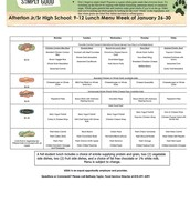Grade 9-12 January 26-30
