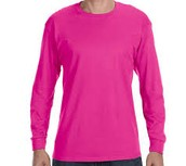 Cyber Pink - Adult Long Sleeve (White Ink) $11.00