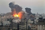 Israel getting bombed by the Arabs