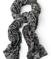 Union Square a Scarf - Printed Zebra