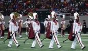 Bethune Drum Majors At Honda 2012