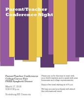 Parent-Teacher Conferences on March 17th