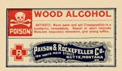 Wood alcohol