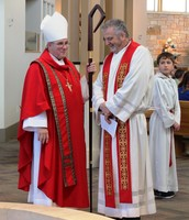 Bishop Warfel & Fr. Oliver Doyle
