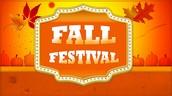 Fall Festival October 21st