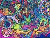 How an LSD Trip Looks