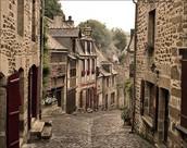 Les rues de Dinan
