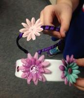 Making Headbands with Mrs. Kamens!