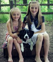 Ava, Snoopy, and Emma