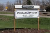 Danville Museum Sign