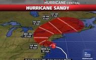 Location of Sandy