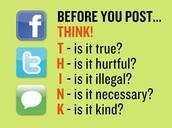 Rule# 1 be nice online