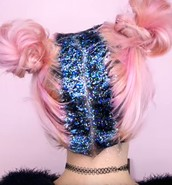 Glitter roots... wait WHAT?!?