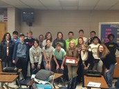 Going Away party for Mrs. Welander