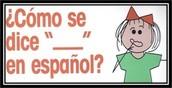 como se dice...en español