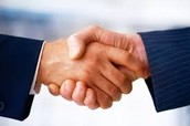 DO shake hands