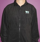 Black Fleece Jacket - *Sale $30*