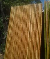 panel de caña natural marron
