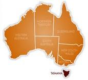Where is Tasmania?