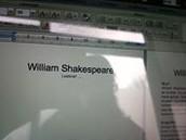 Lesbrief Shakespeare