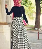 La Falda de cuadros