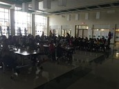Over 120 students turned in their reading logs