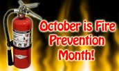 FIRE PREVENTION - OCTOBER 15TH