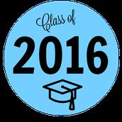 2016 Graduation Dates