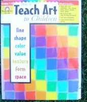 Teaching ART to kids can show their ARTistic style!
