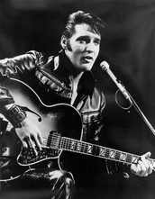 "Elvis Presley ""The King of Rock and Roll"""