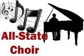 Three WHS students earn seat in the Texas All State Choir