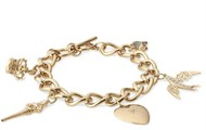 Wonderland Charm Bracelet - Brand New!